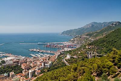 Città di Salerno, cenni storici su Salerno