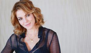 Claudia Gerini Luci d'Artista Salerno inaugurazione